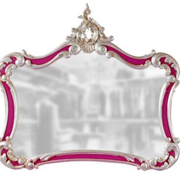Резная рама с зеркалом Angelica